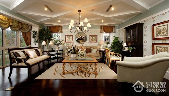 98平米三居室混搭风格设计