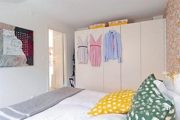 宜家风格装饰效果套图卧室效果
