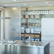 117平日式风格别墅欣赏厨房