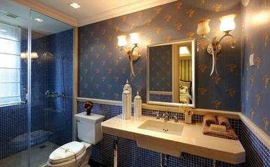 欧式古典风格住宅欣赏卫生间