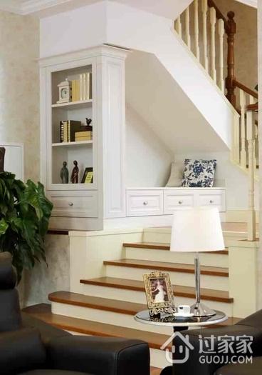 135平简欧舒适复式欣赏楼梯间