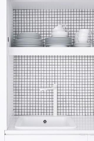 36平极简主义设计欣赏厨房陈设