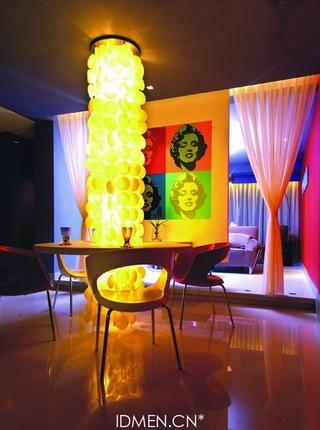 现代一居公寓餐桌