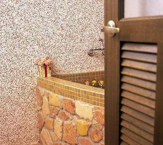 76平东南亚红砖设计欣赏阳台