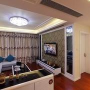 时尚现代客厅灯饰效果图