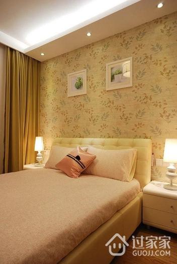 温馨小窝 卧室壁纸装饰效果图