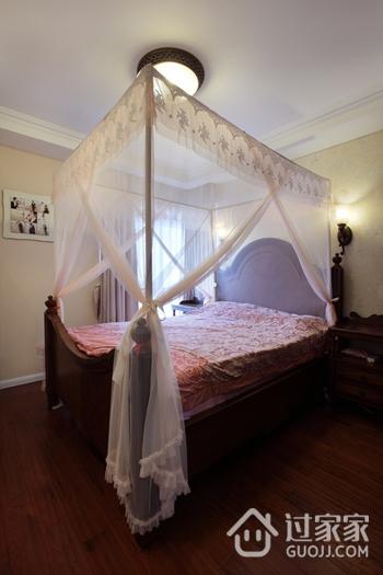 美式风三居室雅居欣赏卧室吊顶