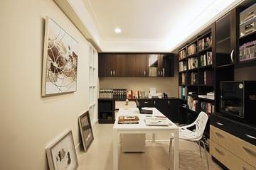 88平温馨美式风住宅欣赏餐厅设计