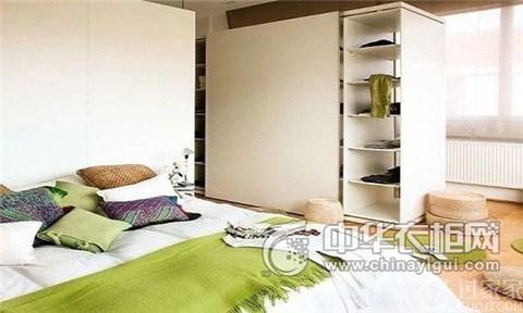卧室定制衣柜图片