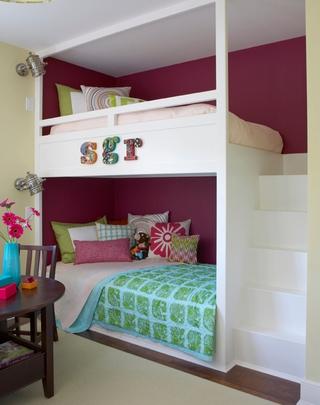 宜家风格时尚别墅装饰儿童房