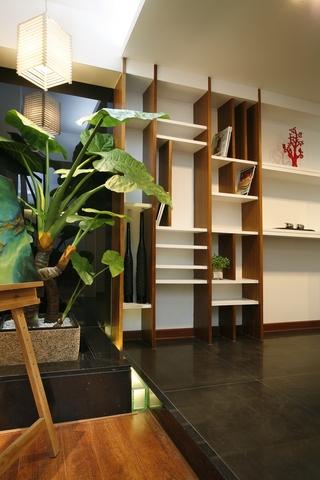 现代风格住宅套图背景墙