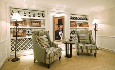 地中海风格别墅设计酒室