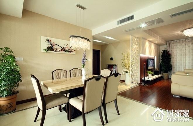 简约风格餐厅餐桌摆放图 让家更加温暖
