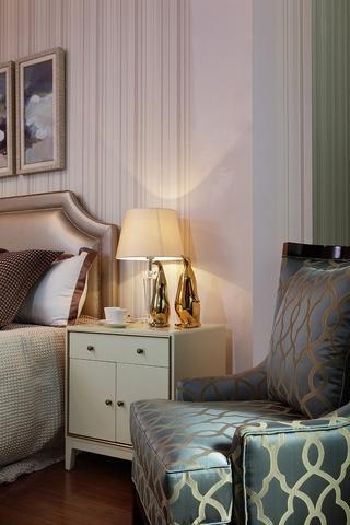 新古典卧室床头灯饰 典雅厚重公寓