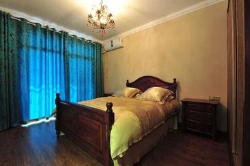 东南亚风格三居欣赏卧室