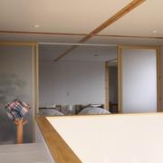 白色日式风格两居欣赏卫生间陈设