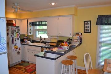 混搭别墅家装效果图开放厨房
