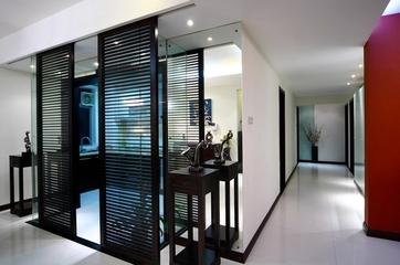 114平新中式住宅欣赏厨房