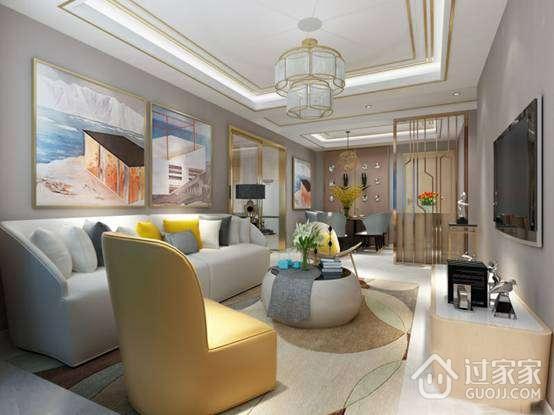 都市白领的70平二居室 全包装修只花了6万元