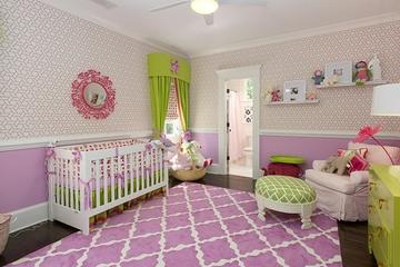 亮丽多彩北欧住宅欣赏儿童房设计