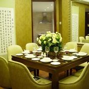 餐桌花艺图片
