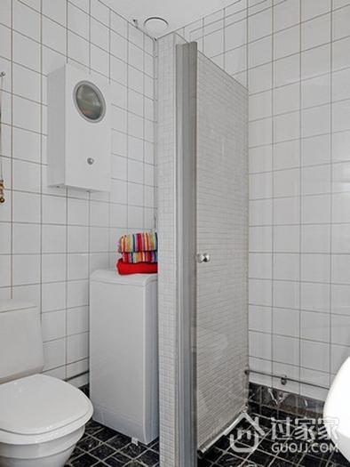 细节精致宜家一居室欣赏卫生间