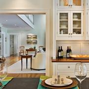 时尚欧式别墅装修图厨房橱柜