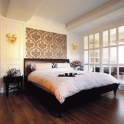 后现代90平三居室效果图卧室陈设