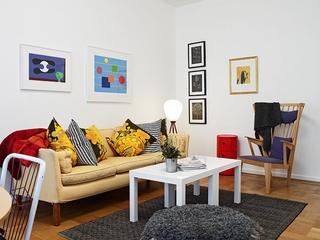 57平一室一厅北欧欣赏客厅