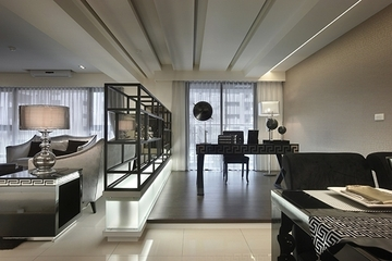 新古典设计住宅效果图书房