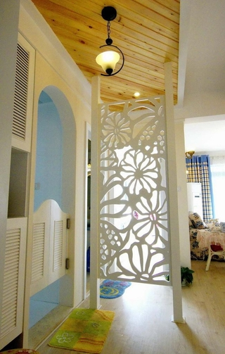 67平地中海两居室欣赏过道设计