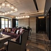 精致现代客厅灯饰效果图 打造时尚家装