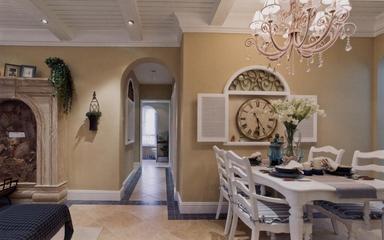 92平地中海两居室欣赏客厅吊顶