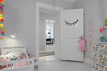 70平北欧舒适住宅欣赏儿童房效果
