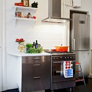 新彩装饰简约两居欣赏厨房