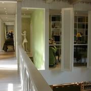 新古典复式设计二楼走道