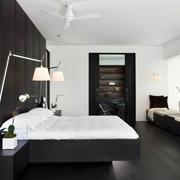 黑白空间搭配住宅欣赏卧室