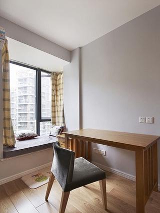 日式原木两居室欣赏卧室局部