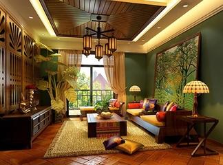 东南亚风格常见的软装搭配饰品
