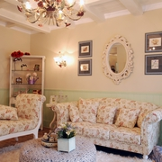 欧式田园风沙发背景墙装饰品