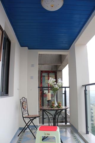 89平地中海样板房欣赏阳台设计
