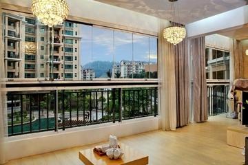 大气奢华中式住宅欣赏阳台