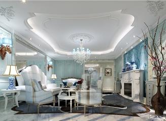 108平欧式风格住宅欣赏