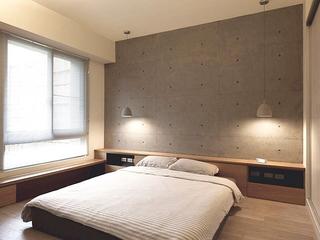 日式轻松两居室欣赏卧室