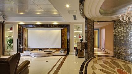 新古典雅致三居欣赏客厅背景墙