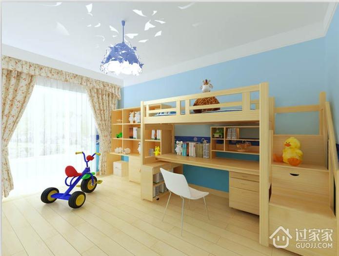115平现代三居室案例欣赏儿童房灯