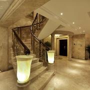 欧式风格复式楼楼梯