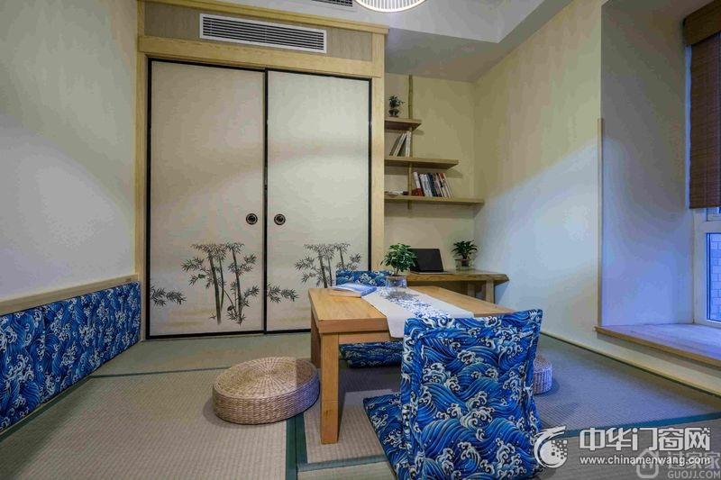日式和风卧室装修效果图
