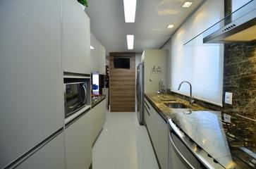 162平现代复式楼欣赏厨房设计