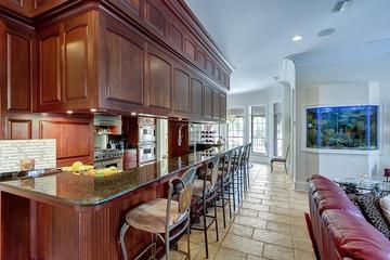 奢华欧式风格效果图厨房吧台